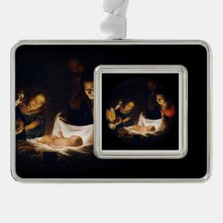 Adorazione del Bambino Adoration of Child Ornament