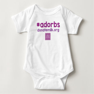 #adorbs onsie baby bodysuit