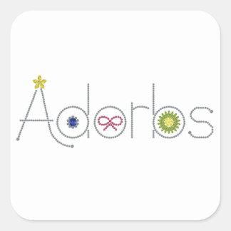 Adorbs Square Sticker