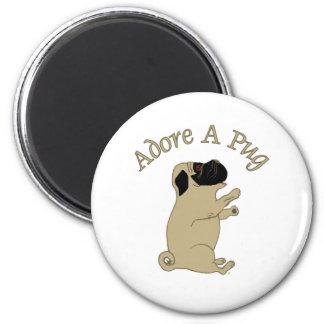adore a pug magnet