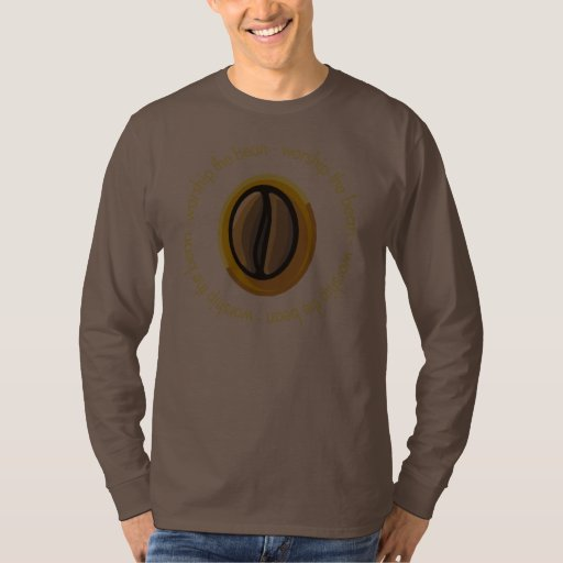 Adore la camiseta del café de la haba poleras