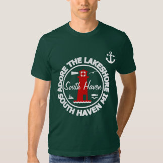 Adore The Lakeshore - South Haven T Shirt