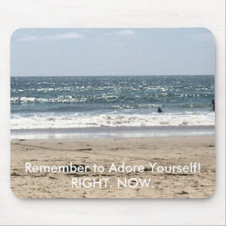 Adore Yourself Beach Mousepad