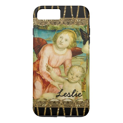 Adored Christ Child Beautiful Monogram iPhone 8 Plus/7 Plus Case