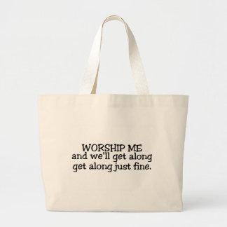 Adóreme y bien consiga a lo largo apenas de multa bolsa tela grande