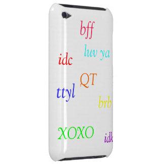 adorible iPod touch Case-Mate fundas