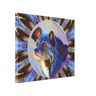 Adoring Dog Eyes Canvas Print