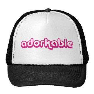 Adorkable (pink) trucker hat