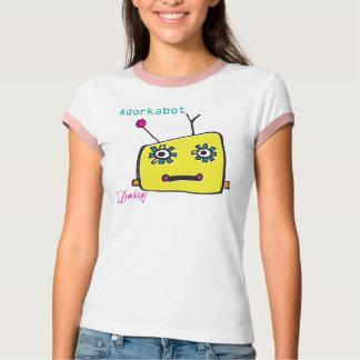Adorkabot Daisy Robot T-shirt