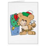 adornamiento para el diseño del oso de peluche del tarjeta de felicitación
