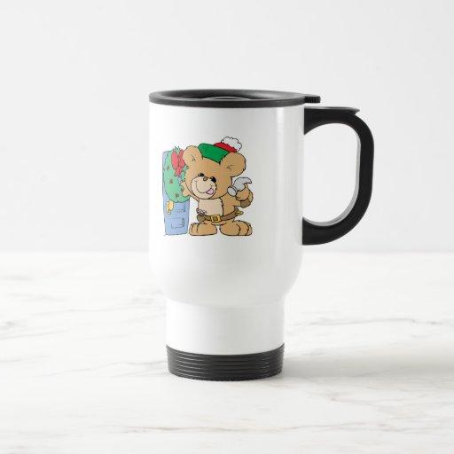 adornamiento para el diseño del oso de peluche del taza