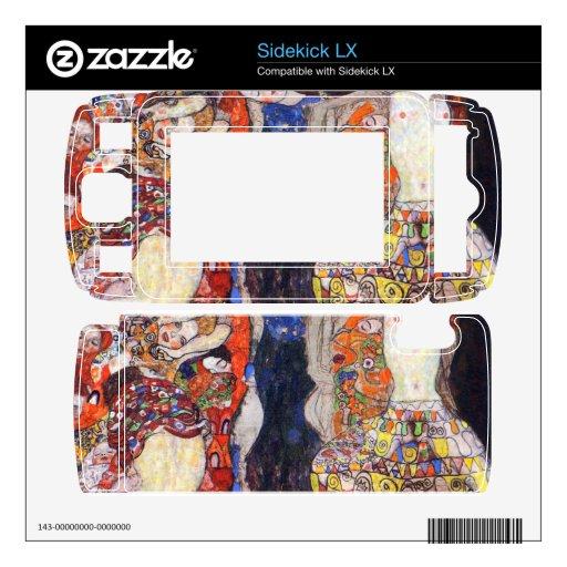 adorne a la novia con velo y enrruelle por Klimt Skins Para elSidekick LX