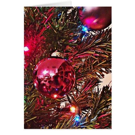 Adorne su tarjeta de Navidad del ~ del corazón