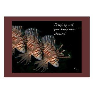 Adornment ACEO Haiku Art Trading Card------------- profilecard