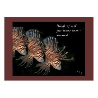 Adornment ACEO Haiku Art Trading Card------------- Business Card Templates