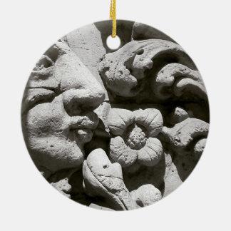 Adornment Alicante stone Ceramic Ornament