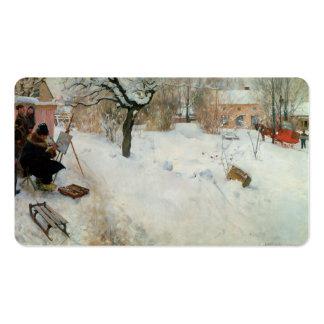 Adorno Asogatan Suecia del invierno