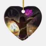 Adorno Corazón: El mundo en tus manos/Promodecor