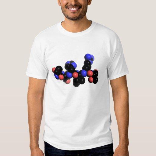 Adorno de la CAMISETA en esferas negras Camisas