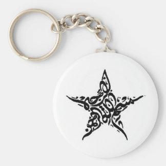 Adorno de la estrella de Bismillah Llavero Redondo Tipo Pin