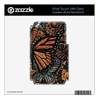 ADORNO DE LA MARIPOSA iPod TOUCH 4G SKINS
