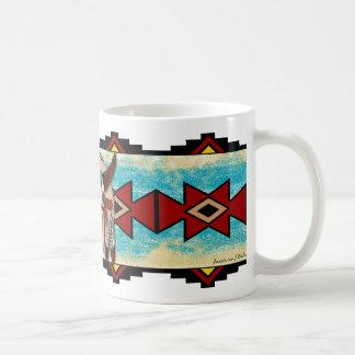 Adorno del búfalo tazas de café