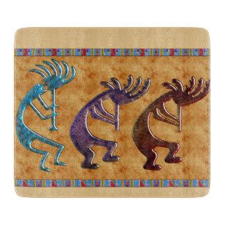 Adorno del nativo americano de Kokopelli 3D Tablas Para Cortar