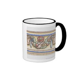 Adorno del templo romano antiguo de Vesta, Taza De Café