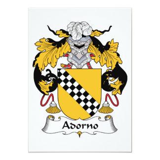 Adorno Family Crest Card