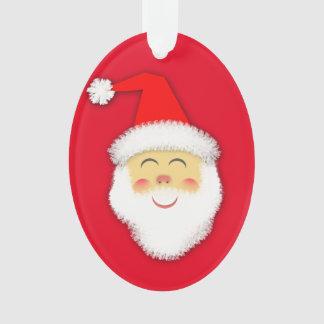 Adorno Ovalado - Santa Claus