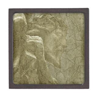 Adorno texturizado cristiano caja de regalo de calidad
