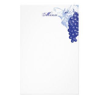 Adornos de la uva papelería personalizada