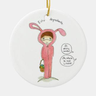 Adornos de Pascuas Ceramic Ornament