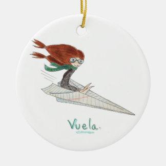 Adornos de Vuela Christmas Ornament