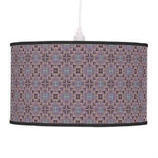 Adornos preciosos del melocotón lámpara de techo