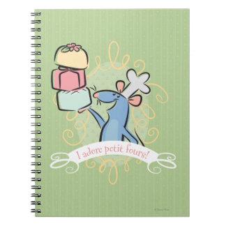 ¡Adoro los pastelitos! Spiral Notebooks