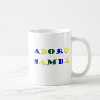 Adoro Samba Coffee Mugs