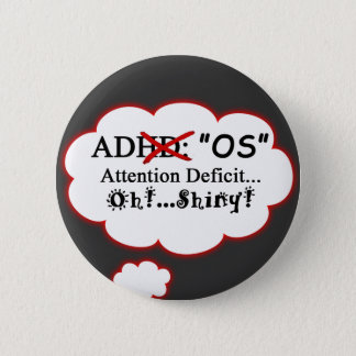 ADOS Shirt Pinback Button