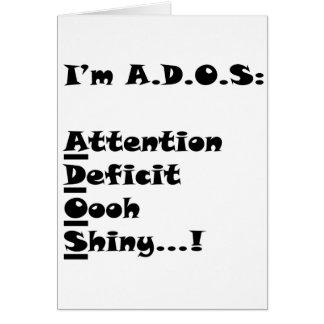 ADOSRectangle Card