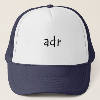 Adr Trucker Hat