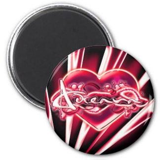 Adreana 2 Inch Round Magnet