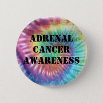 Adrenal Cancer Awareness Button