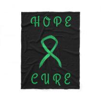Adrenal Cancer Awareness Ribbon Art Soft Blankets