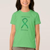 Adrenal Cancer Awareness Ribbon Custom Art Shirt