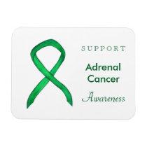 Adrenal Cancer Awareness Ribbon Custom Magnets