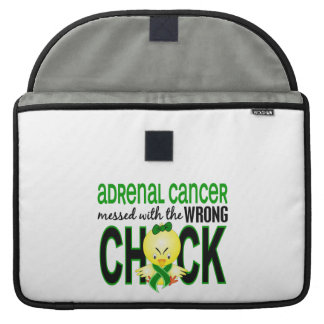Adrenal Cancer Messed With Wrong Chick MacBook Pro Sleeve