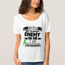 Adrenal Cancer Met Its Worst Enemy in Me T-Shirt