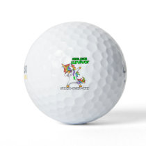 ADRENAL CANCER Survivor Stand-Fight-Win Golf Balls