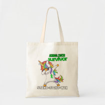ADRENAL CANCER Survivor Stand-Fight-Win Tote Bag