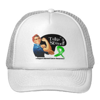 Adrenal Cancer Take a Stand Trucker Hats